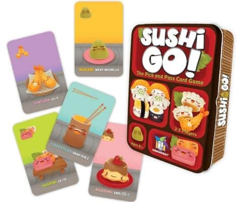 Sushi Go! – The Pick and Pass Card Game