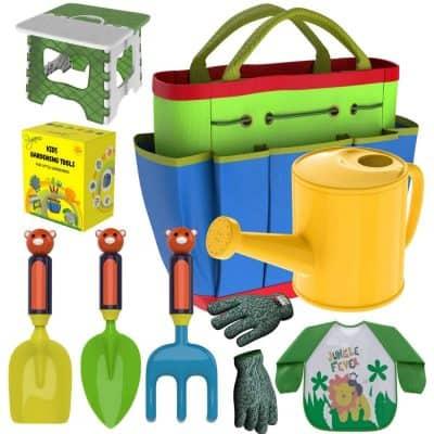 Rigaorz Kids Gardening Tools Outdoor Toy Set