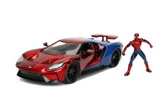Jada Toys Marvel Spider-Man & 2017 Ford Gt Die-Cast Car