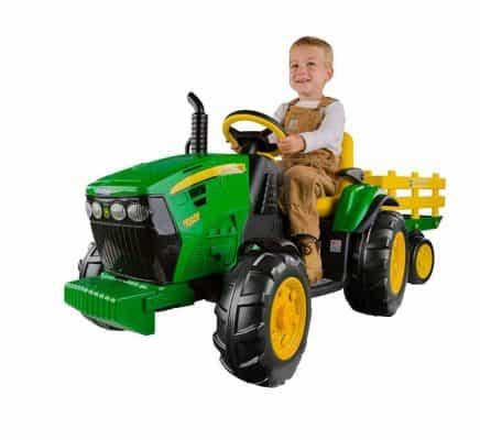 Peg Perego Ground Force John Deere Tractor