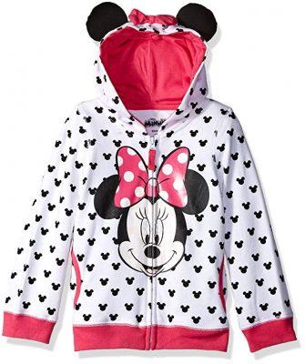 Disney Girls' Minnie Hoodie