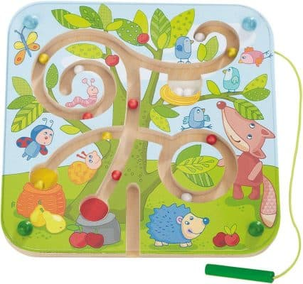 HABA Tree Maze Wooden Magnetic Game
