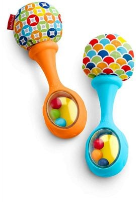 Fisher-Price Rattle and Rock Maracas
