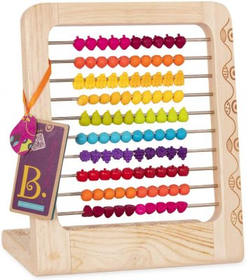 B. toys Two-ty Fruity Wooden Abacus