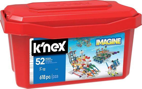 Knex – 52 Model Building Set – 618 Pieces