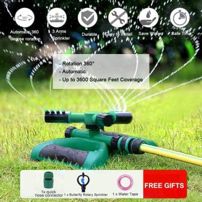 Nine-to-Five Life Lawn Sprinkler for Kids