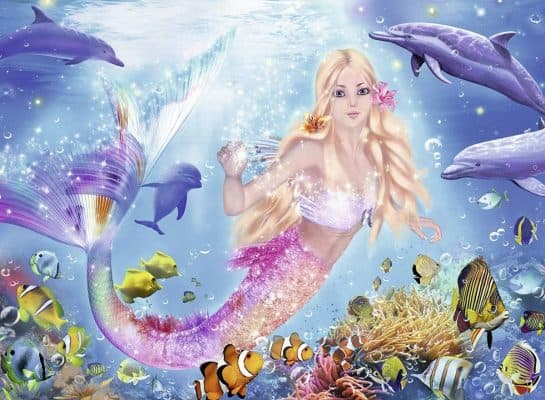 Ravensburger Mermaid and Dolphins