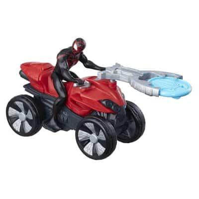Marvel Spider-Man Blast 'N Go Racer Kid Arachnid with ATV