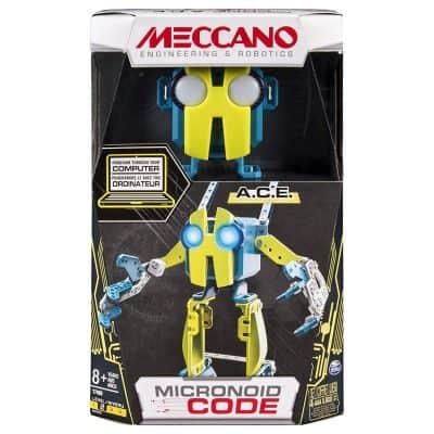 Meccano-Erector – Micronoid Code A.C.E. Programmable Robot Building Kit