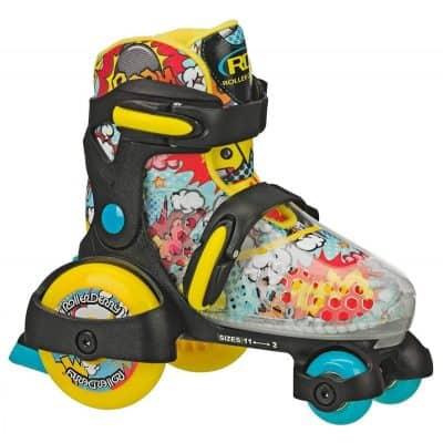 Roller Derby Fun Roll Boys' Jr. Adjustable Roller Skate