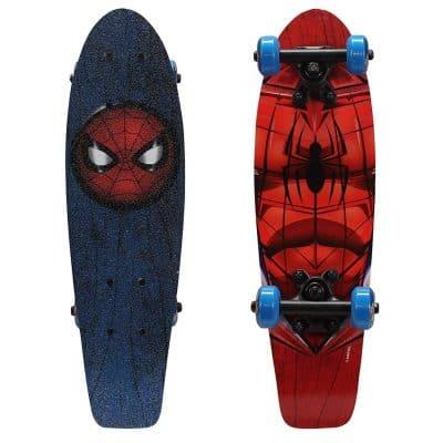 PlayWheels Ultimate Spider-Man 21-Inch Wood Cruiser Skateboard