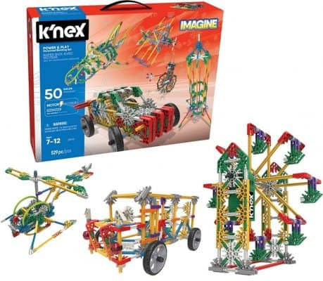 K'NEX Imagine- Power and Play Motorized Building Set- 529 Pieces