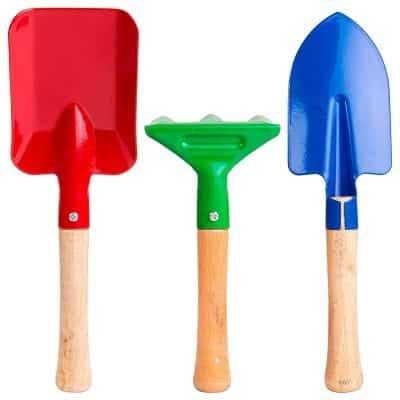 B4MBOO Kids Gardening Tools Set