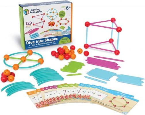 Learning Resources Build 2D and 3D Shapes