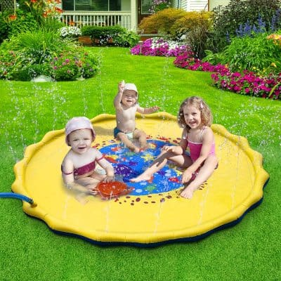 DAPRIL Outdoor Sprinkler Pad