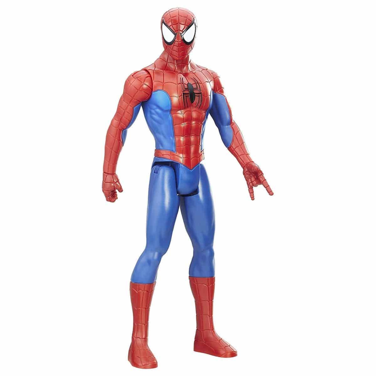 "12/"" Marvel Titan Hero Series Black Suit Spider-Man Venom Action Figure Kids Toy"