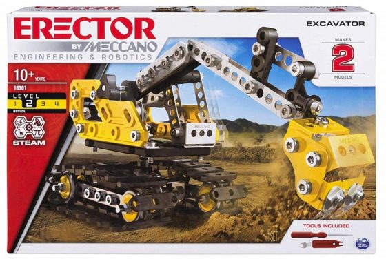Erector Excavator by Meccano