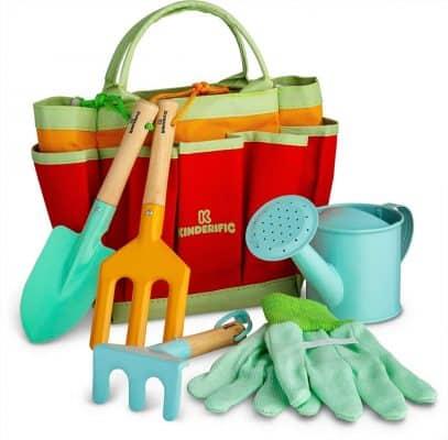 Kinderific Gardening Tool Set for Kids