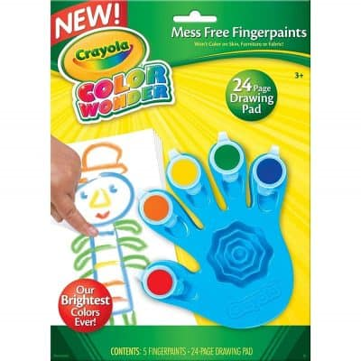 Crayola Color Wonder Mess Free Fingerpaints and Paper
