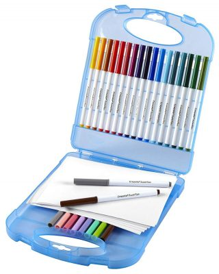 Crayola Super Tips Washable Markers & Paper Set