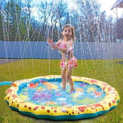 Conthfut Toddler Splash Water Play Mat
