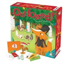 Outfoxed Board Game by Gamewright