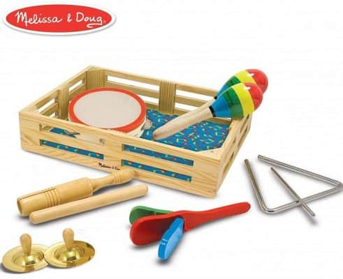 Melissa & Doug Band-in-a-Box Musical Instrument