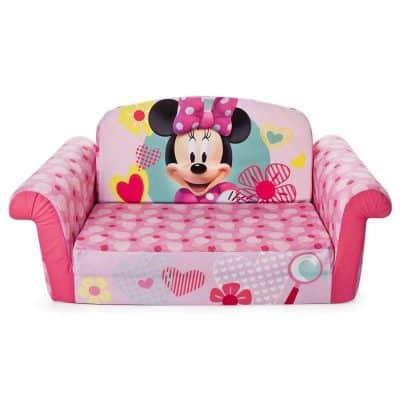 Marshmallow Furniture Minnie Mouse sofa