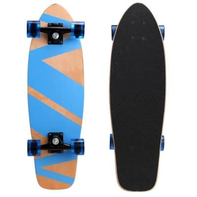 """Ancheer 27"""" Cruiser Skateboard Complete 9 Layer Canadian Maple"""