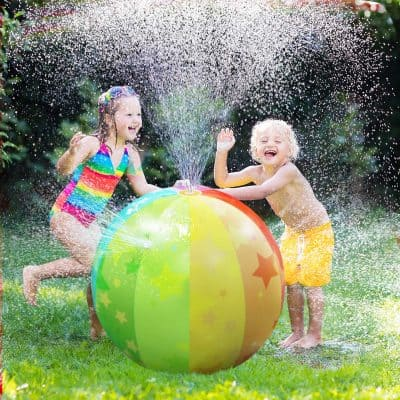 iBase Toy Inflatable Sprinkler