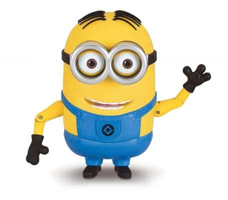 Despicable Me Talking Minion Dave Toy Figure