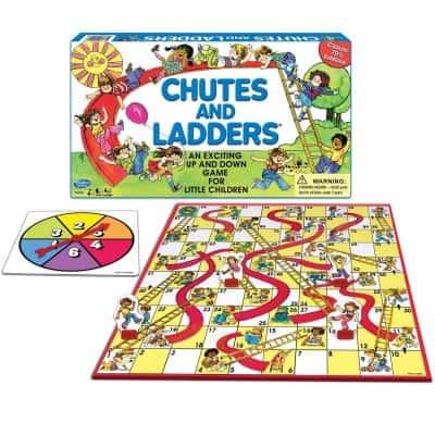 Hasbro Gaming: Chutes And Ladders Board Game