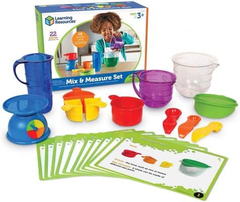 Learning Resources Mix and Measure Activity Set