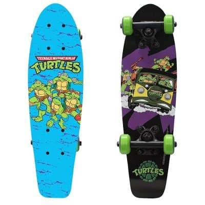 PlayWheels Teenage Mutant Ninja Turtles 21-Inch Wood Cruiser Skateboard
