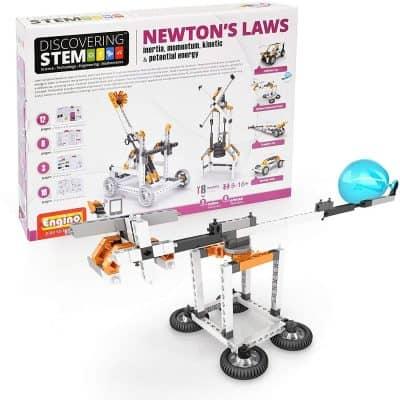 Engino Discovering STEM Newton's Laws Inertia Construction Kit