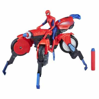 Marvel Spider-Man 3 –In- 1 Spider Cycle with Spider Man Figure