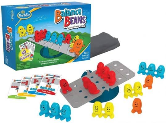 Think Fun Balance Beans Math Game