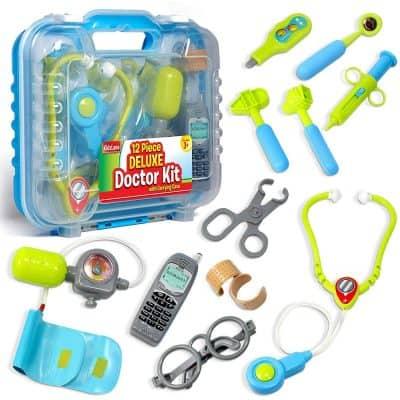 Kidzlane Kids Doctor Kit with Electronic Stethoscope