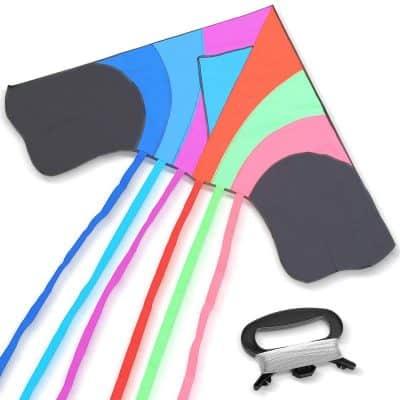 Tomi Kite – Huge Rainbow Kite