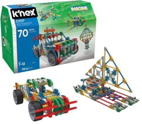 K'NEX 70 Model Building Set – 705 Pieces