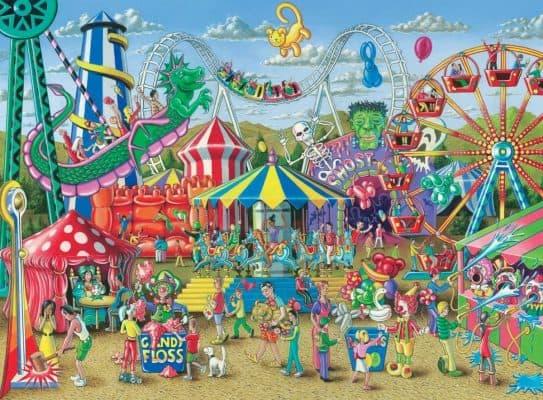 Ravensburger Fun at The Carnival