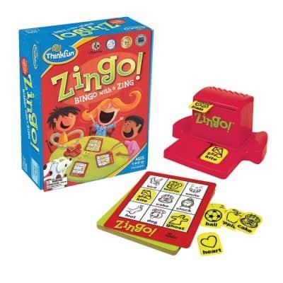 Think Fun Zingo Bingo With a Zing
