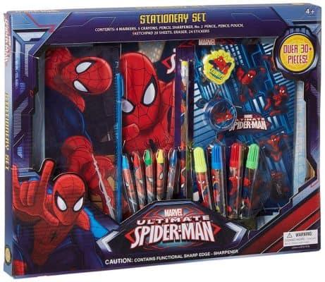 UPD Marvel the Amazing Spiderman 30 Piece Stationery Set- School Supplies