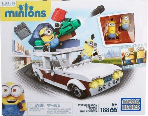 1Mega Bloks Minions Stations Wagon Getaway