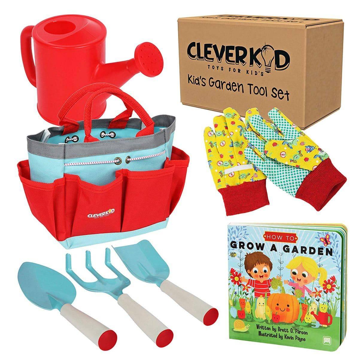 NEW Set of 2 Kids Garden Tools Trowel Spade Gardening Beach Toy Gift Set UK