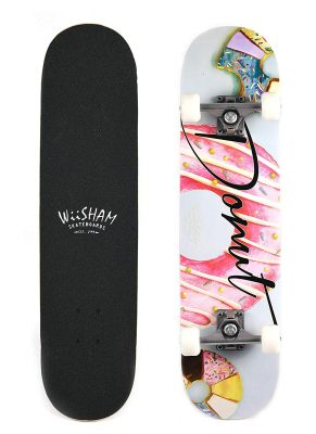 X Free Skateboard 31-Inches Complete Skateboards for Beginners