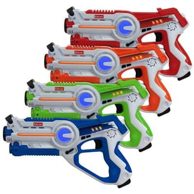 Kidzlane Infrared Laser Tag Set of 4 Players