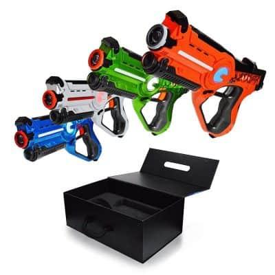 Family Games Laser Tag 4 Pack Set