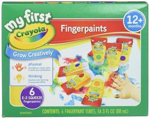 Crayola; My First Fingerpaint Kit