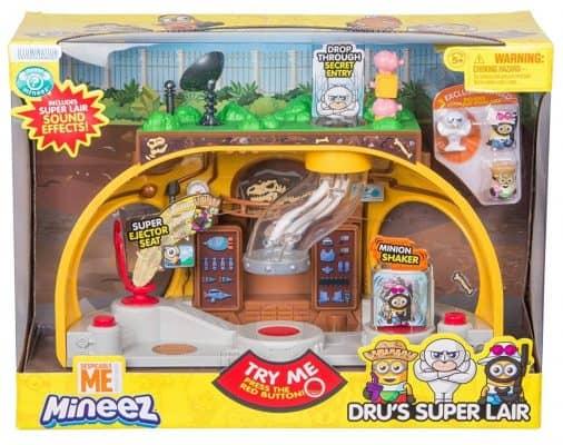 Despicable Me Dru's Super Lair Playset